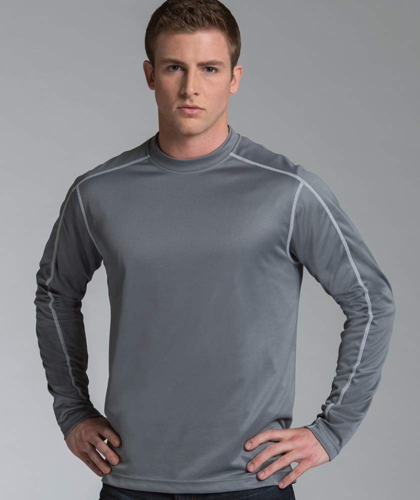 Charles River 3137 - Long Sleeve Wicking Tee