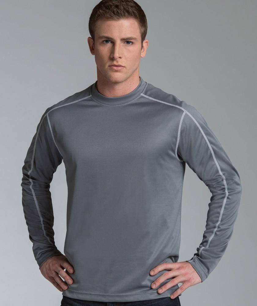 5834b88e1f0 Charles River 3137 - Long Sleeve Wicking Tee  18.23 - Men's T-Shirts