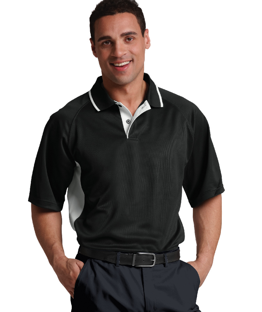 Charles River 3810 - Men's Color Blocked Wicking Polo