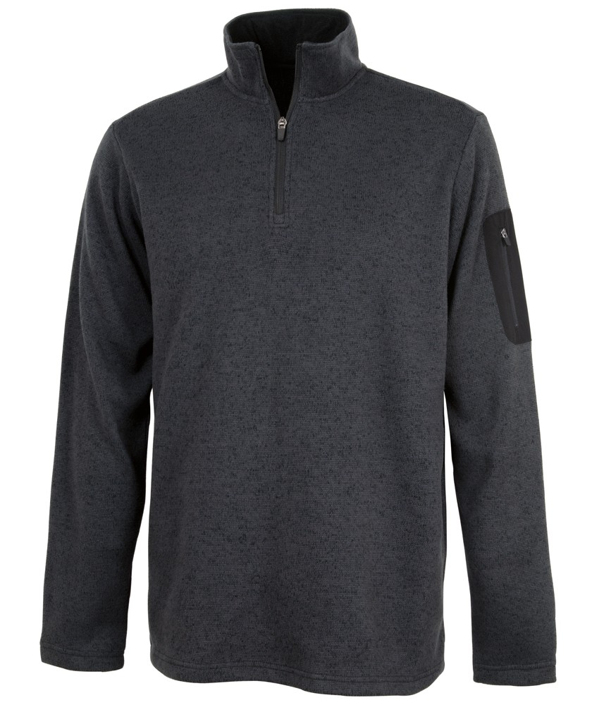 Charles River 9312 - Men's Heathered Fleece Pullover