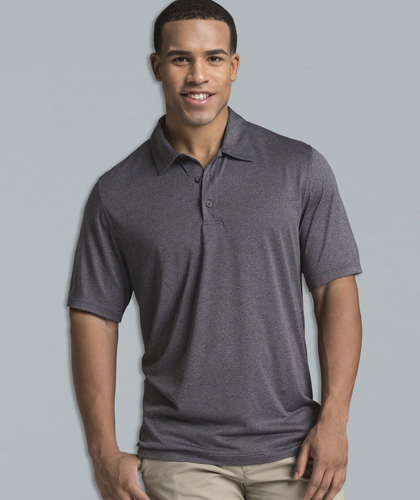 Charles River 3519 - Men's Heathered Polo