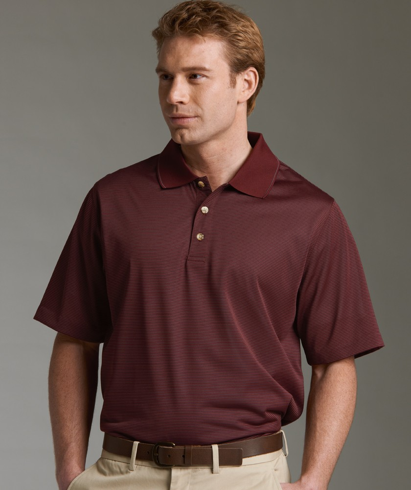 Charles River 3160 - Men's MicroStripe Polo