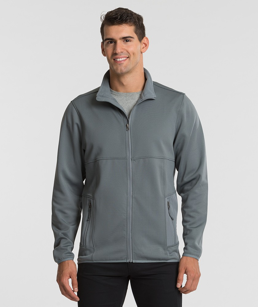 Charles River 9683 - Men's Waypoint Birdseye Fleece ...