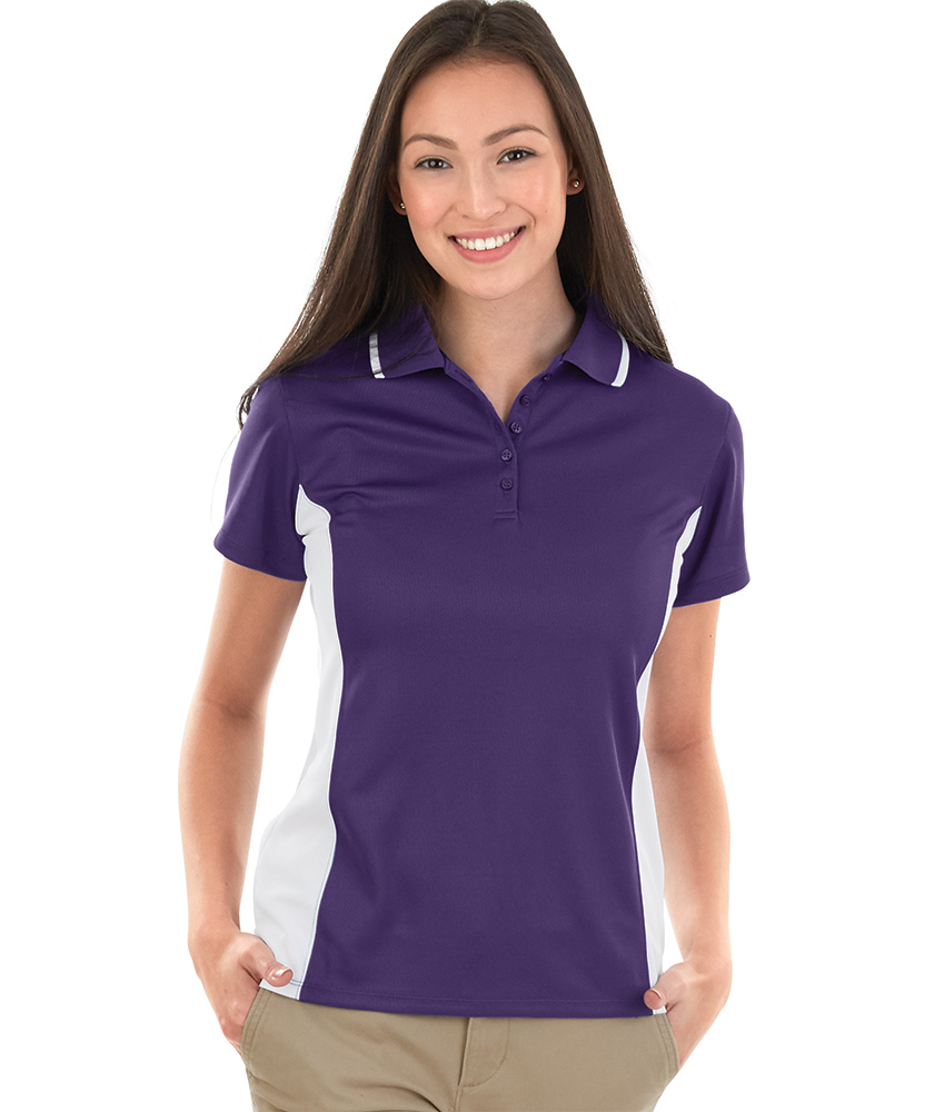 Charles River 2810 - Women's Color Blocked Wicking Polo