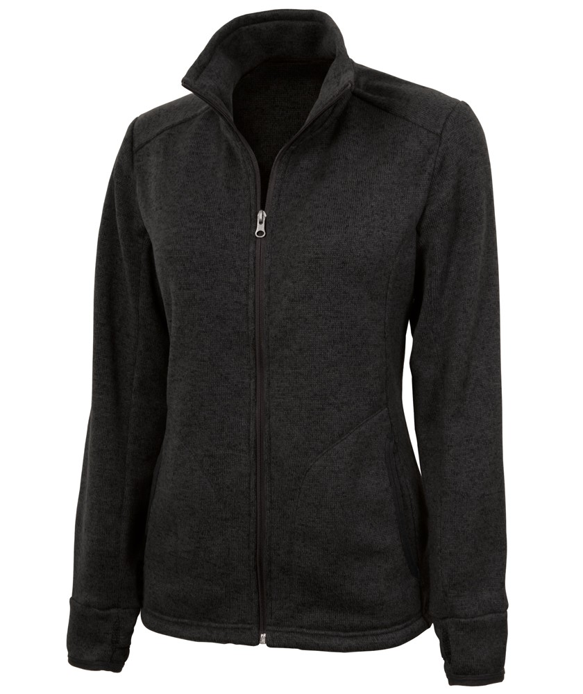 Charles River 5493 - Women's Heathered Fleece Jacket