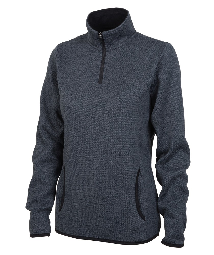 Charles River 5312 - Women's Heathered Fleece Pullover