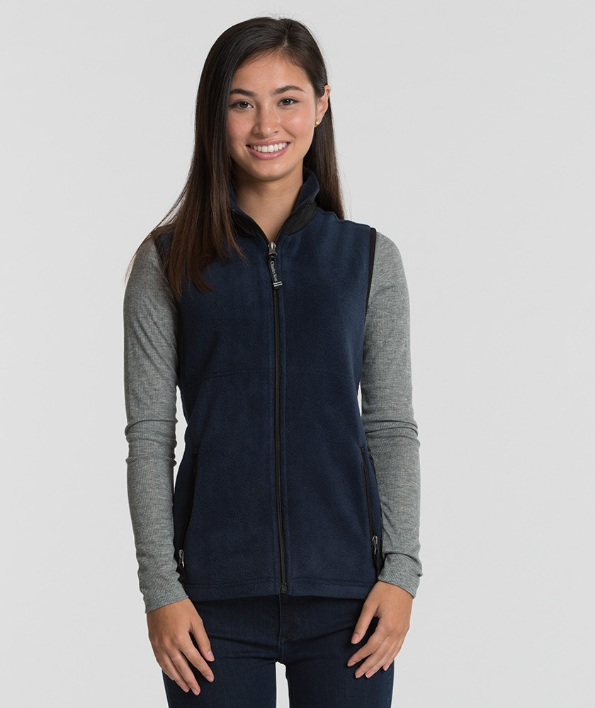 Charles River 5603 - Women's Ridgeline Fleece Vest