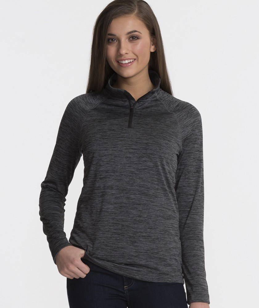 Charles River 5763 - Women's Space Dye Performance Pullover
