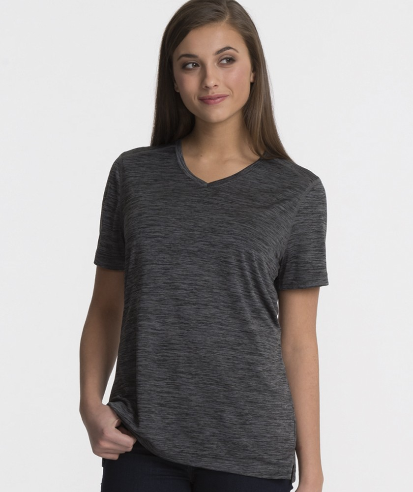Charles River 2764 - Women's Space Dye Performance Tee