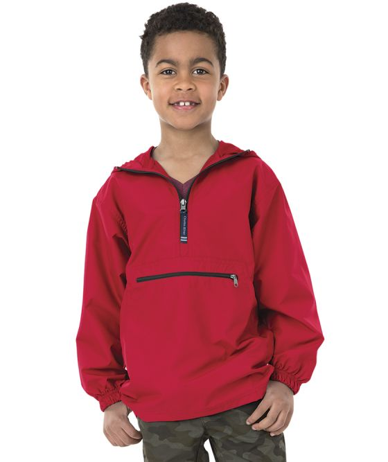 Charles River 8904 - Youth Pack-N-Go Pullover