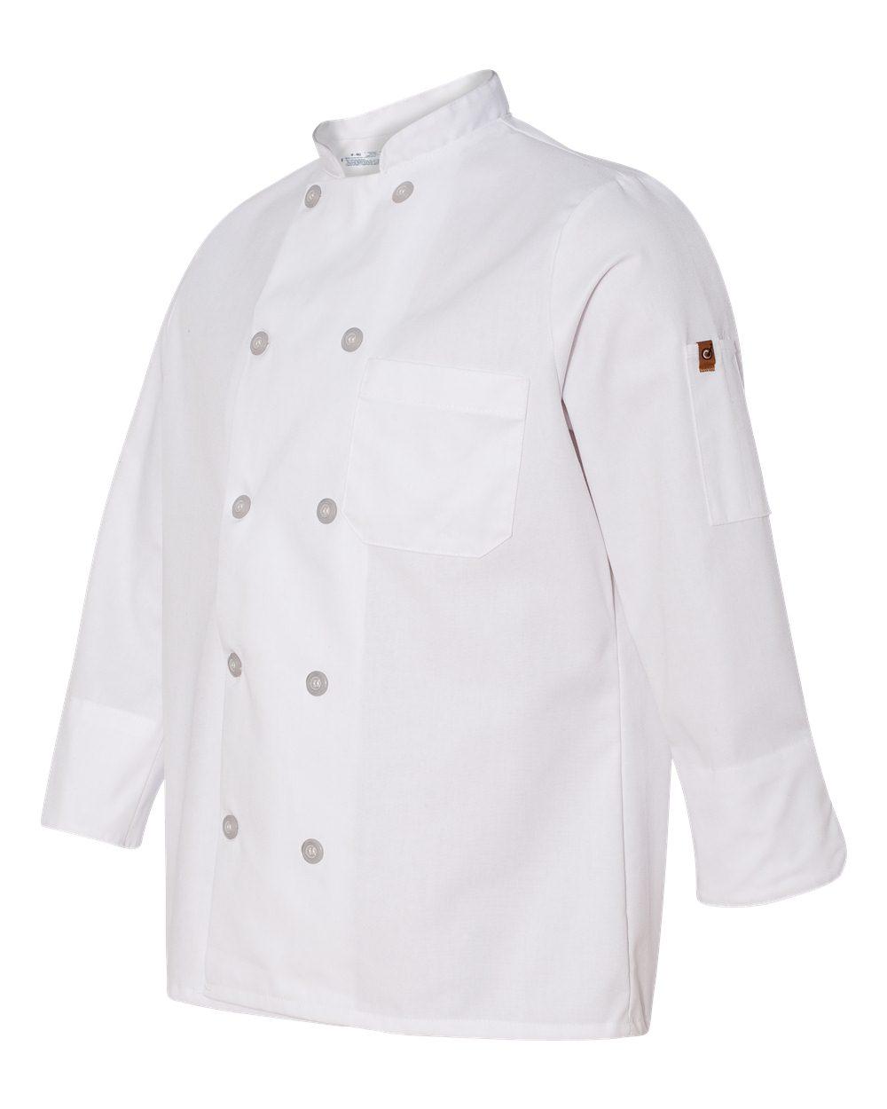 Chef Designs 0401 - Women's Ten Button Chef Coat