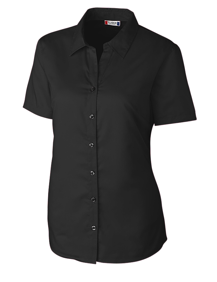 Clique LQW00008 -  Ladies' S/S Avesta Lady Stain Resistant Twill