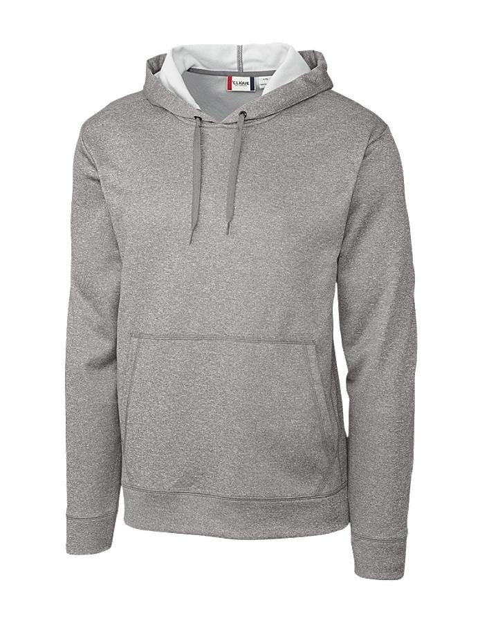 Unipro Mens Basic 2 Pack Fleece Hoodie Sweatshirt with Kangaroo Front Pocket Bundle