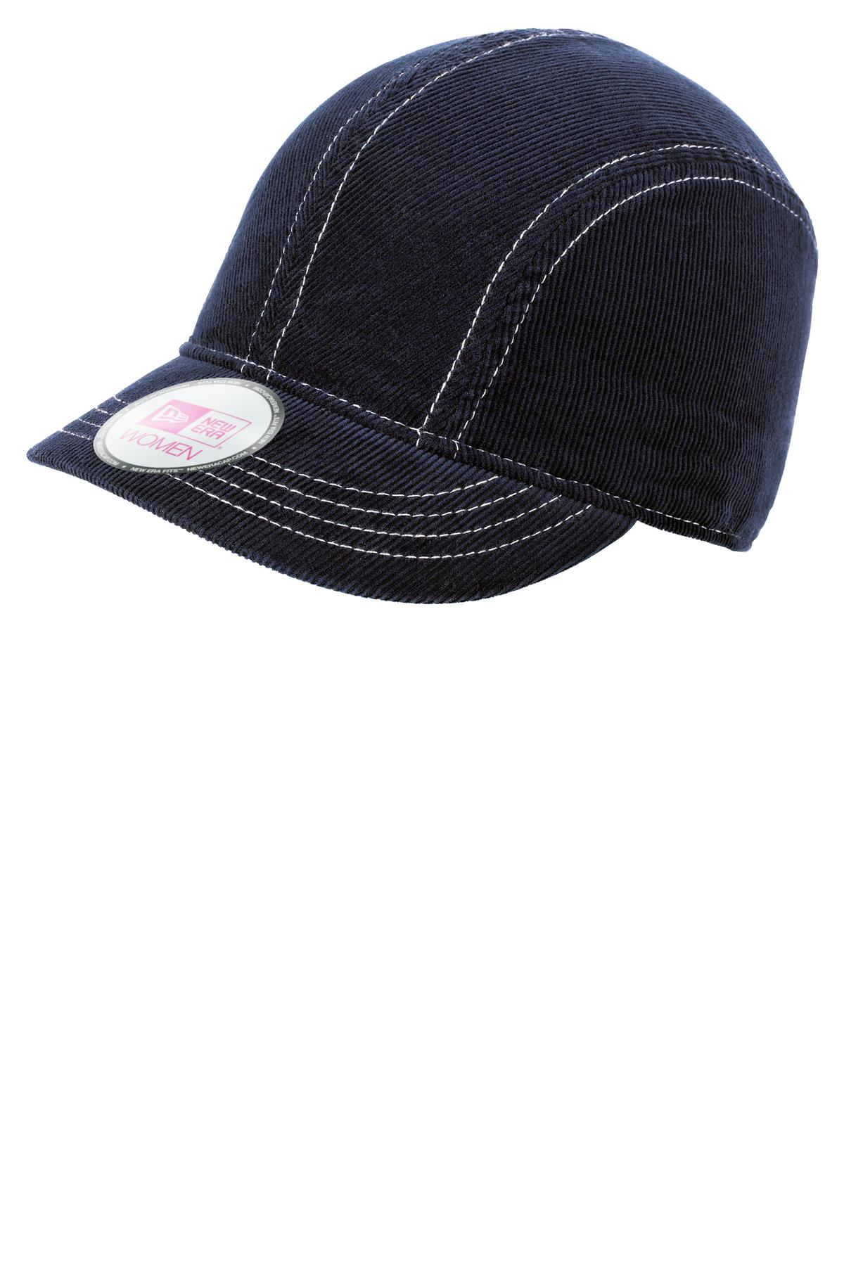 CLOSEOUT New Era  NE500 - Women's Corduroy Short Bill Cap