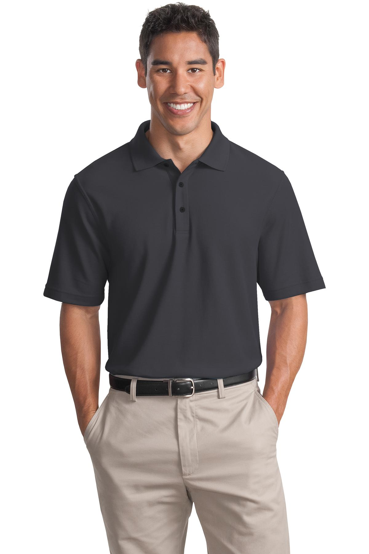 CLOSEOUT Port Authority  K800CO - EZCotton? Pique Polo
