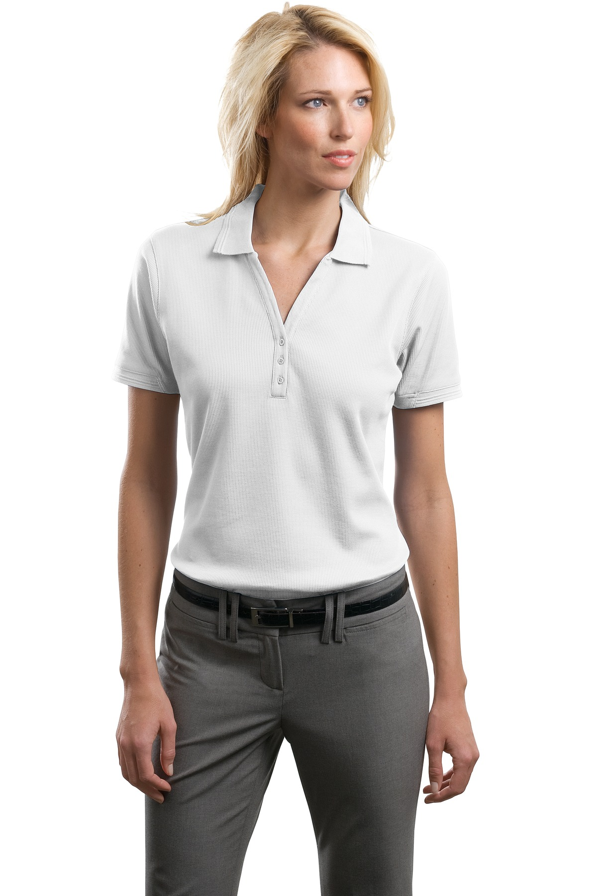 CLOSEOUT Port Authority  L492 - Ladies Performance Waffle ...
