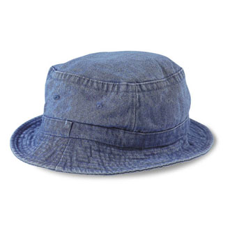 Cobra BKT-D - Bucket Denim Washed Cap