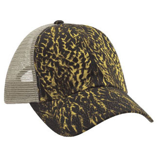 Cobra DC-6 - 6 Panel Duck Camo Soft Mesh Back Cap