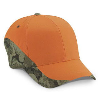 Cobra ETV-C - 6 Panel Edged Twill Camo Cap
