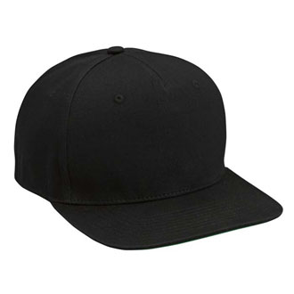 Cobra FB-5 - 5 Panel Cotton Twill Flat Bill Cap