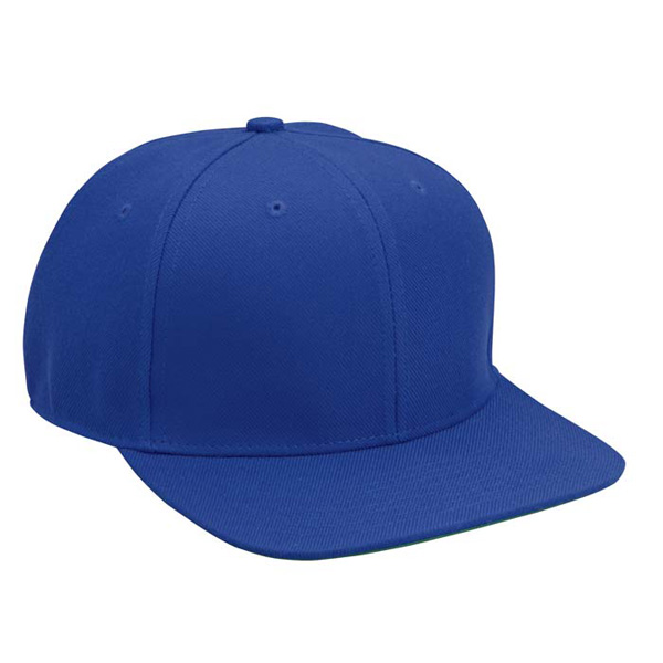 Cobra FB-6 - 6 Panel Wool Blend Flat Bill Cap