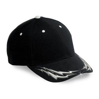 Cobra FSN-6 - 6 Panel Fusion 3D Patterns Cap