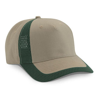 Cobra HKM - 5 Panel Brushed Cotton Hook Mesh Cap