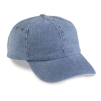 Cobra PDC-R - 6 Panel Washed Denim Relaxed Cap