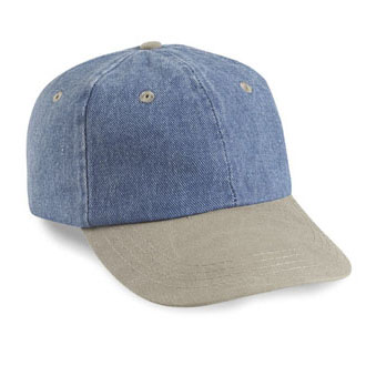 Cobra PDW-R - 6 Panel Denim/Washed Visor