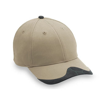 Cobra PEAK - Leatherette Peak Visor/Button