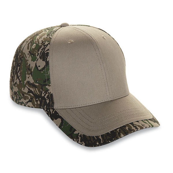 Cobra PPV-C - 6 Panel Camo Structured Cap