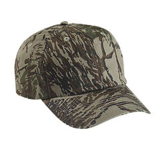 Cobra PRV-C - 6 Panel Camo Unstructured Cap