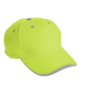 Cobra SAF-5 - 5 Panel Neon Safety/Reflective Cap