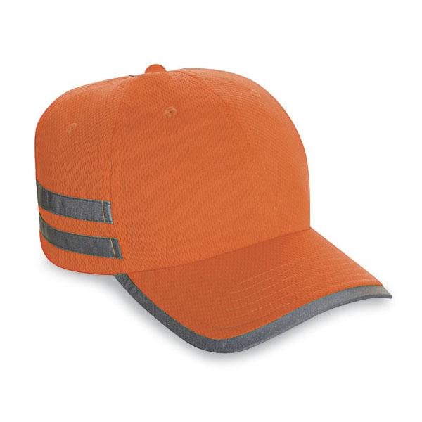 Cobra SAF-T 六片式 100%透气布料高亮运动棒球帽鸭舌帽