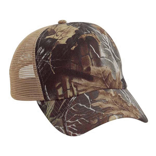 Cobra SG-5 - 5 Panel Superflauge Game Mesh Cap