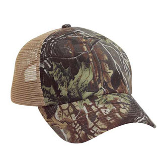 Cobra SG-6 - 6 Panel Superflauge Game Mesh Cap