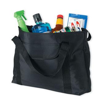 Cobra TM-Z - Zippered Microfiber Tote Bag