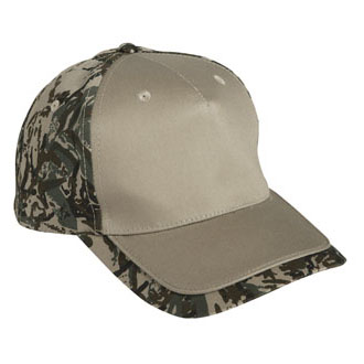 Cobra TPV-C - 5 Panel Cotton Piping Camo Cap