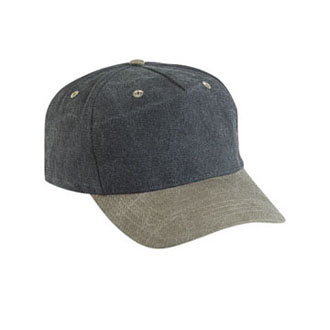 Cobra TPW - 5 Panel Pro-Look Stone Washed Cap