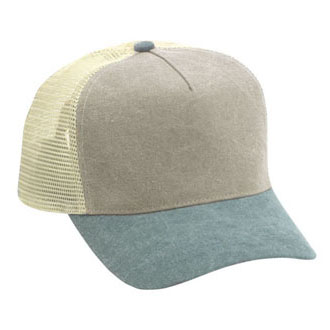 Cobra TPW-M - Low Crown Washed Mesh Back Cap