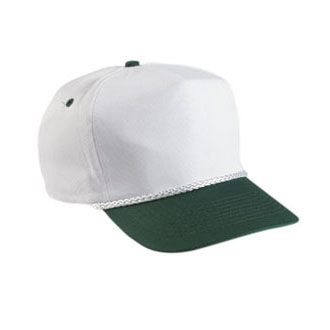 Cobra TSG-2 - 5 Panel Twill Snap Back 2-Tone Cap