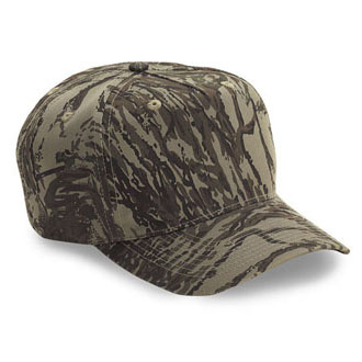 Cobra TSP-C - 5 Panel Pro-Look Low Crown Camo Cap
