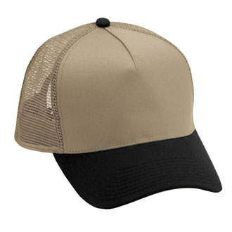 Cobra TSP-M - 5 Panel Twill Pro-Look Mesh Back Cap