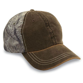 Cobra TT-WEA - 6 Panel Weathered-Washed Cap w/True Timber ...