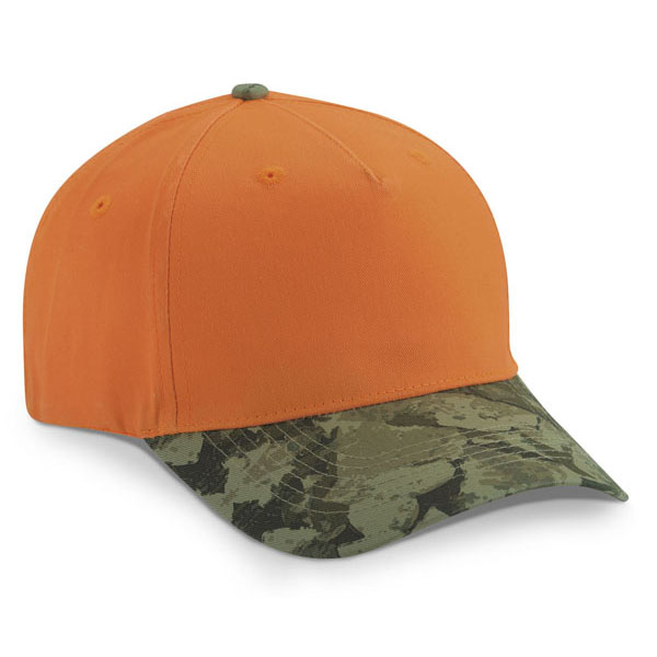 Cobra TTV-C - 5 Panel Twill Camo Looptape Cap
