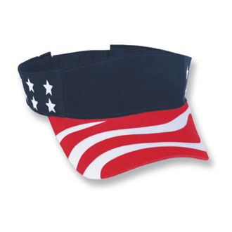 Cobra USA-V - USA Imprinted Visor