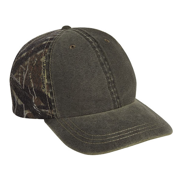 Cobra WSG-C - 6 Panel Weather-Washed Cap with Superflauge ...