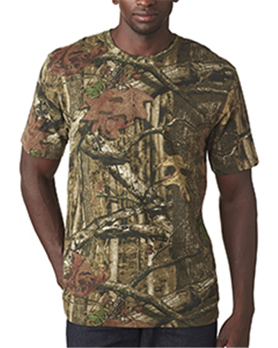 Code V 3970 - Adult MOSSY OAK® Camouflage T-Shirt