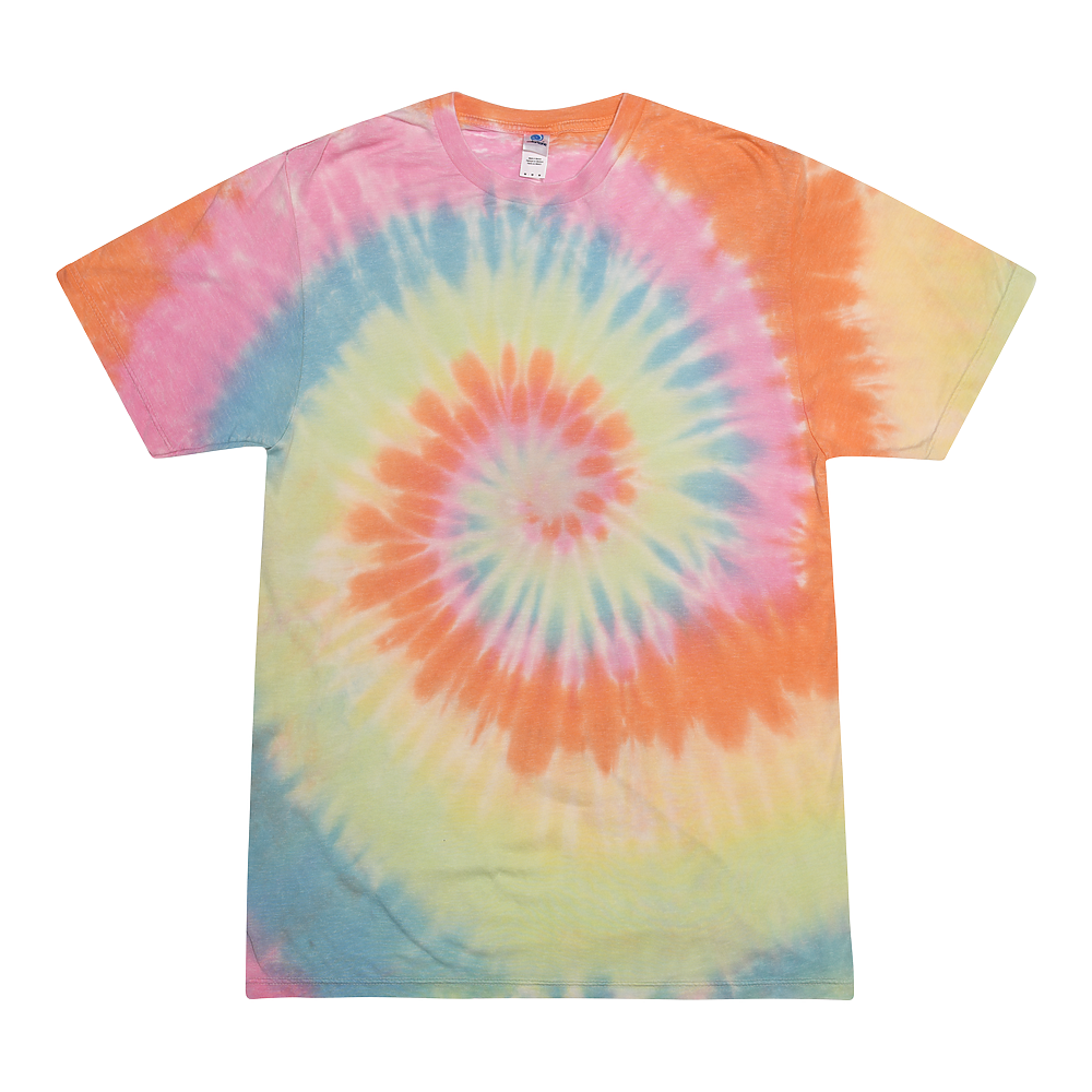 Colortone 1090 - Burnout Festival Tie Dye Tee