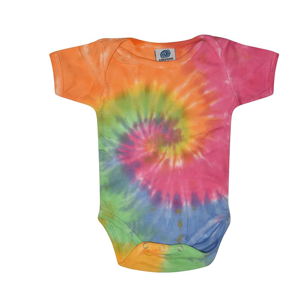 Colortone 5100 - Infant Tie Dye Creepers